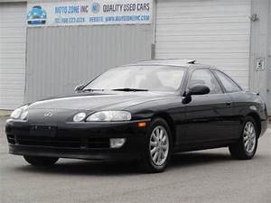 1993 Lexus Sc 400 Base 2dr Coupe 72949 Miles Black Coupe 4