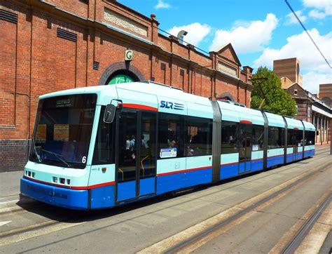 is the light rail running today sydney trams light rail sydney