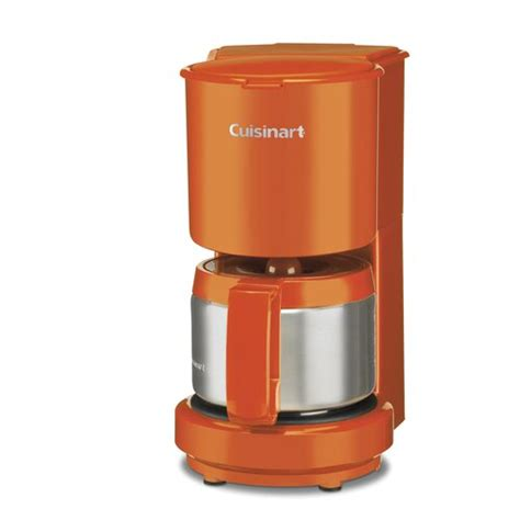 A lot of machines in the market either require you to brew coffee for a small army or sacrifice the quality! Cuisinart 4-Cup Coffee Maker with Thermal Carafe & Reviews | Wayfair