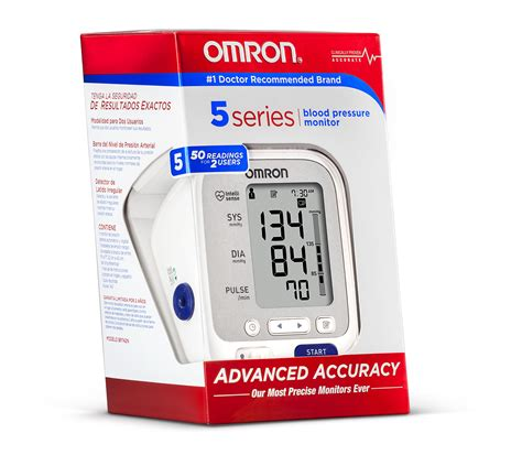 Amazon.com: Omron BP742N 5 Series Upper Arm Blood Pressure