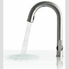 Electronic Touchless Kitchen Faucet Sensate  Kohler Rus