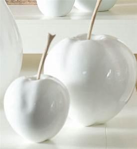 Deko Weiß Silber : deko apfel fleur ami im greenbop online shop kaufen ~ Sanjose-hotels-ca.com Haus und Dekorationen