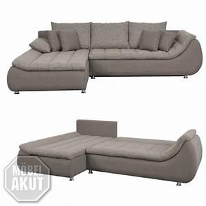 Ecksofa Mit Schlaffunktion Grau : ecksofa rondo sofa couch in grau stone mit schlaffunktion ebay ~ Frokenaadalensverden.com Haus und Dekorationen