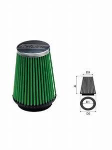 Green Filtre à Air : filtre air green conique universel 50 mm ~ Medecine-chirurgie-esthetiques.com Avis de Voitures