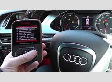 Audi A4 B8 ABS Sensor Replaced & Lights Diagnosed 2008 to