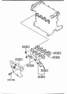 1991 Mazda Miata Gasket  Exhaust Manifold