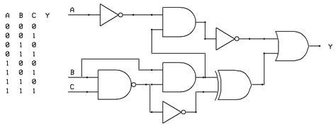 Tikz Pgf Using Circuitikz Generate Logic Circuit