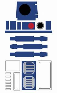 Star wars r2 d2 favor bag printable free party for R2d2 printable template