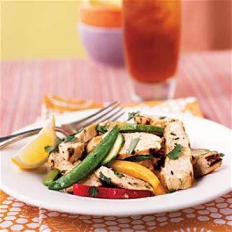 light chicken recipes grilled chicken and lemon salad 100 easy chicken recipes