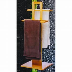 Porte serviettes en Bambou Maison Futée