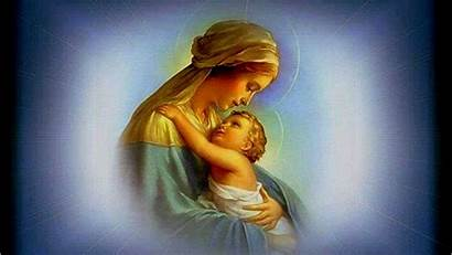 Mary Mother Jesus God Wallpapers Boy Touches