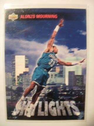 Deck Michael Skylights by Free 1993 94 Deck Skylights Alonzo Mourning