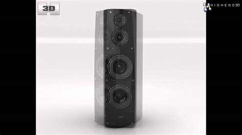 sony ss ar1 speaker 3d from creativecrash com youtube