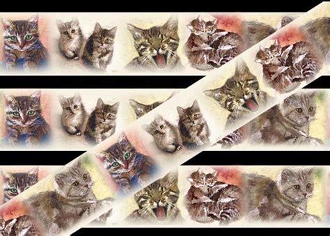 wallpaper border cats cat wallpaper borders ideas