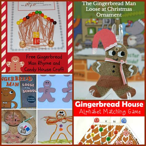the ultimate gingerbread theme for preschool and 456 | Gingerbread Theme Literacy Activities for Preschool and Kindergarten