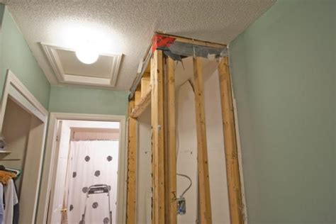 load bearing wall closet wider doityourself