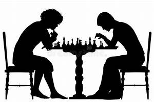 Chess match stock vector. Illustration of competition ...