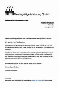 Mahnung Ohne Rechnung : mahnung schreiben mit muster und vorlagen ~ Themetempest.com Abrechnung