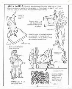 Castle Grayskull Instructions