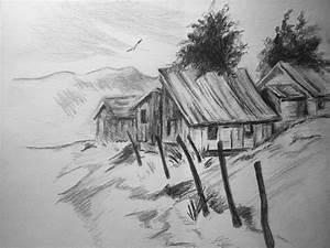 Easy Landscape Drawing In Pencil Easy Landscape Drawings ...