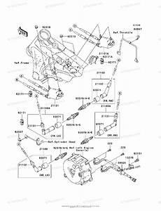 Kawasaki Motorcycle 2006 Oem Parts Diagram For Ignition