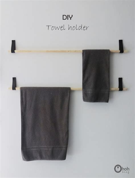 diy bathroom storage ideas towel holders racks  hooks