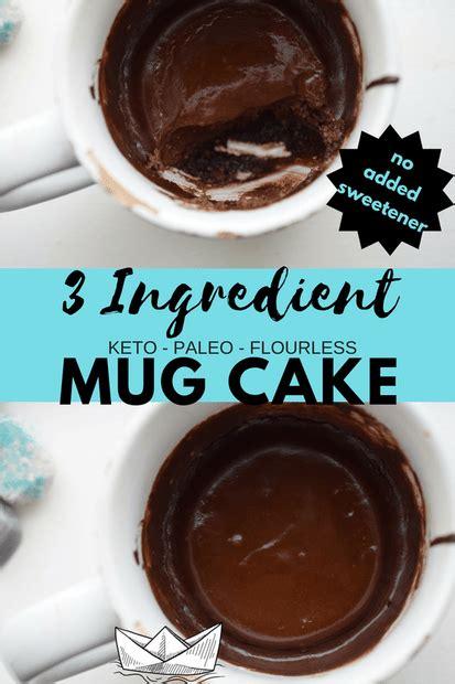 ingredient keto mugcake  dairyfree