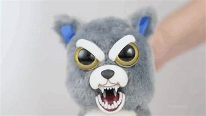 Animals Stuffed Scary Pets Feisty Squeeze Plush