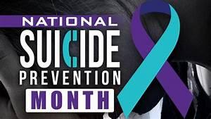 September Marks Suicide Prevention Month