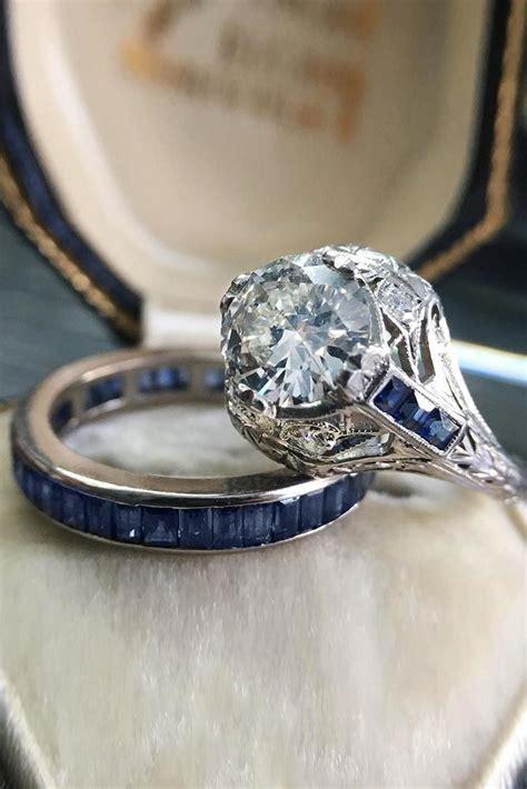 art deco engagement rings  fantastic
