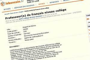 Leboncoin Orleans : des parents d 39 l ves recrutent un prof sur ~ Gottalentnigeria.com Avis de Voitures