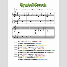 Symbol Search Worksheets Pianimationcom