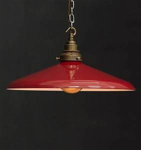 Es curved shade industrial pendant vintage lighting