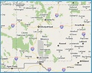 Los Alamos New Mexico Map   map of interstate