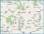 Los Alamos New Mexico Map | map of interstate