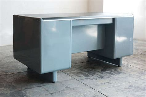 Tanker Desk by Steel Age, Refurbished at 1stdibs