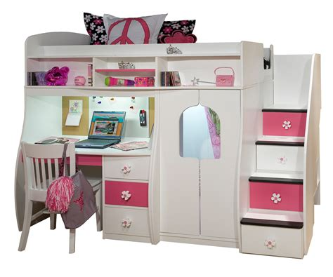cute desks for sale cute white painted solid wood bunk beds with stairs built