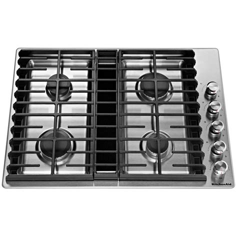 kcgdgss kitchenaid  gas downdraft cooktop stainless steel airport home appliance mattress