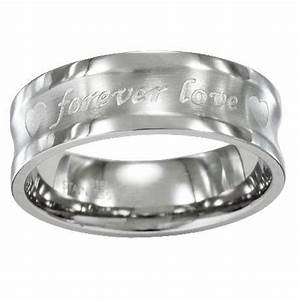 mens stainless steel wedding ring engraved With stainless steel mens wedding ring
