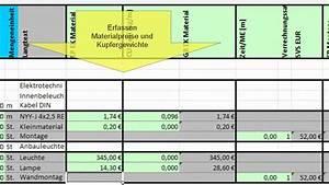 Hausbau Kosten Kalkulieren Excel : gaeb leistungsverzeichnis mit excel kalkulieren youtube ~ Lizthompson.info Haus und Dekorationen