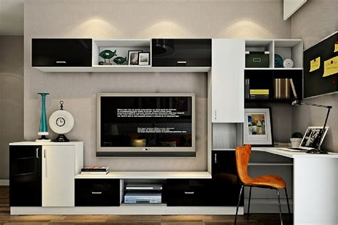 tv and computer bookcase desk desks and tvs on pinterest