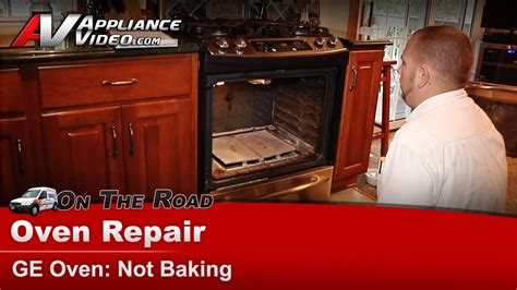 ge hotpoint rca oven  baking  heating ignitor diagnostic repair sspkss youtube