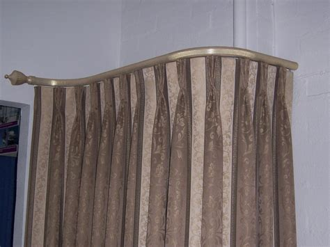 Beautiful Yet Functional Curved Curtain Rod Duckie Shower Curtain And Comforter Sets Primitive Curtains Valances Pink Brown In A Bay Window Country House Collection Damask Kitchen Extra Long Sheer Panels