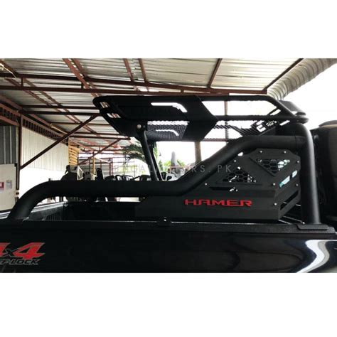 buy toyota hilux revo hamer roof rack  roll bar model    pakistan