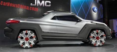 2017 futuristic yuhu concept pickup truck trucks pick up