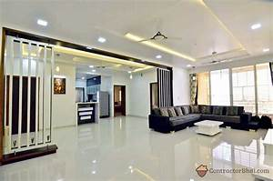 3d interior design service for indian homes contractorbhai for Home interior wall design 2