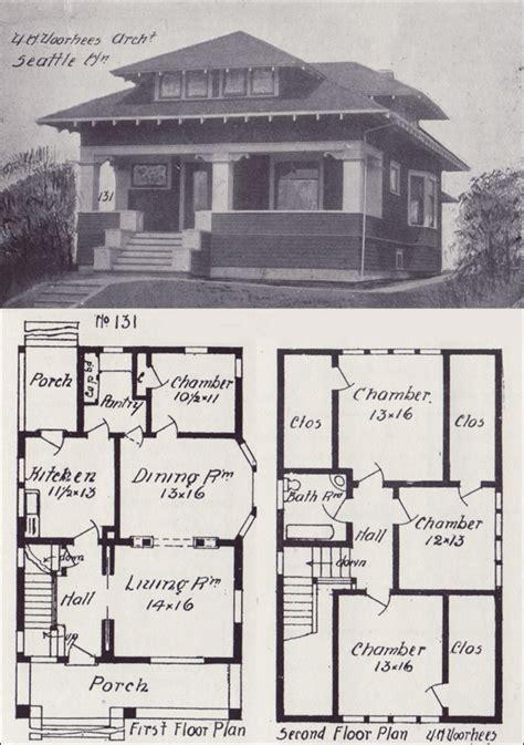 vintage craftsman bungalow house plans vintage craftsman