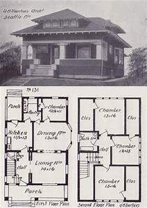 1908 Hip-roofed Craftsman Bungalow Plan - Vintage Seattle