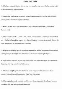 College entrance essay prompts poverty essay thesis common app essay