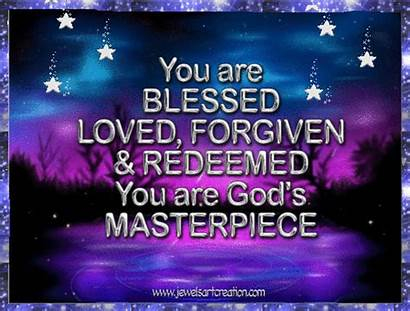 Blessed Words Inspirational Wisdom Quotes God Faith